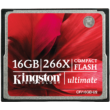 Kingston 16GB Compact Flash Memóriakártya 266X (Cf)