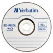 VERBATIM BD-RE 2X 50 GB újraírható Blu-Ray lemez, normál tokban