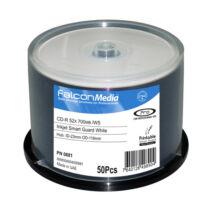 FalconMedia CD-R 700 MB 16x Nyomtatható lemez, cake (50) 0681