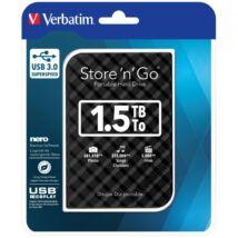 VERBATIM  HDD 1,5 TB 2,5 USB 3.0 Black