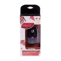 CLIPTEC optikai egér automatikus behúzóval RZS979-03 piros