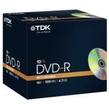TDK DVD-R 4,7GB 16X normál tokban (5)