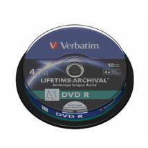 Verbatim M-DISC DVD R 4x 4,7GB Print Cake 10 43824