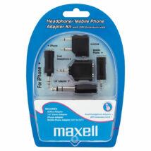 Maxell iPhone fülhallgató és mobiltelefon csatlakozó és átalakító szett