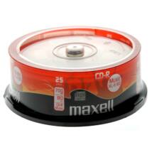 Maxell CD-R 52x Audio lemez, cake (25)