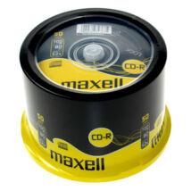 Maxell CD-R 52x lemez, cake (50)