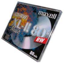 Maxell CD-RW Audio lemez, Normál Tokban