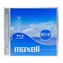 Maxell BD-R 25GB 4x Blu-Ray lemez, Normál Tokban