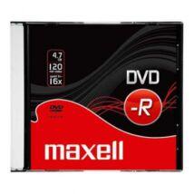 Maxell DVD-R 16x lemez, slim Tokban (10)
