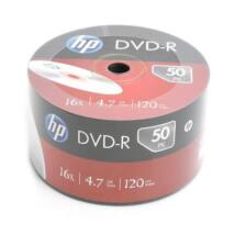 HP DVD-R 16x lemez, Shrink (50)