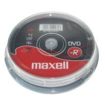 Maxell DVD-R 16x lemez, cake (10)