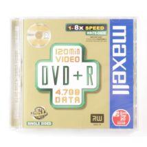 Maxell DVD+R 8X lemez, Normál tokban