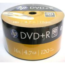HP DVD+R 16x lemez, Shrink (50)