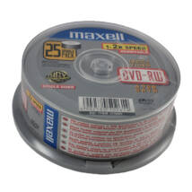 Maxell DVD-RW 2X lemez, cake 25