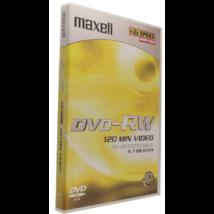 Maxell DVD-RW 2X nagy alakú lemez, DVD tokban