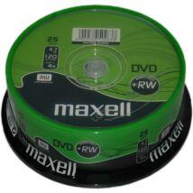 Maxell DVD+RW 4x lemez, cake (25) REPACK