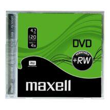 Maxell DVD+RW 4x lemez, Normál Tokban
