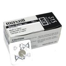 Maxell Ezüst-Oxid Gombelem SR716SW