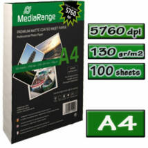 MediaRange Matt Fotópapír A4 130g 100db