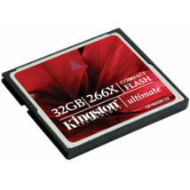 32GB CompactFlash Card Kingston 266x