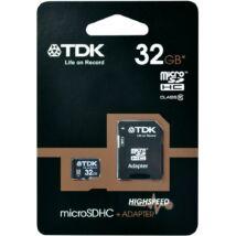 32GB Micro SDHC TDK - Class 10 + adapter