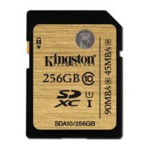 256 GB SDXC memóriakártya Kingston Ultimate UHS-I Class 10
