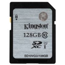 128 GB SECURE DIGITAL SDXC UHS-I KINGSTON - CLASS 10 45MB/s