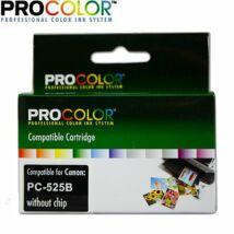 Procolor Canon PC- 525 B  NO CHIP  utángyártott tintapatron