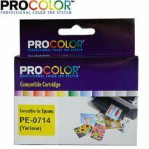 Procolor Epson PE- 714 utángyártott tintapatron