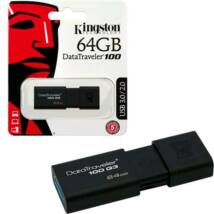64 GB pendrive Kingston USB 3.0 DataTraveler 100 G3