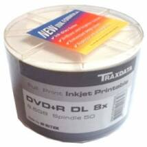 TRAXDATA DVD+R 8X 8,5GB DL Full Printable SP (50)