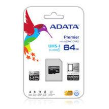 ADATA 64GB MICROSDXC PREMIER UHS-I CLASS 10