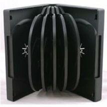 10 PP CD BOX SQUARE 10 CD 28 MM BLACK