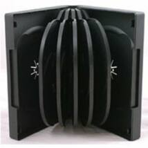 10 PP CD BOX SQUARE 10 CD 28 MM BLACK