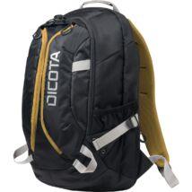 Dicota hátizsák Active 14-15,6 fekete-sárga