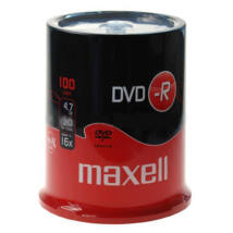 MAXELL DVD-R 16X CAKE (100)