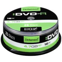 INTENSO DVD-R 4,7GB CAKE 25