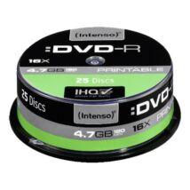 INTENSO DVD-R 4,7GB PRINT CAKE 25
