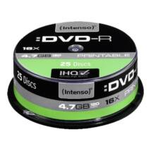 INTENSO DVD-R 4,7GB PRINT CAKE 25