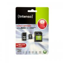 INTENSO MICRO SDHC 8GB CLASS 10+  MOBILITY KIT