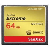 SANDISK COMPACT FLASH EXTREME KARTA 64GB UDMA7