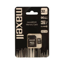 Maxell Micro SDHC 32GB Class 10+ adapter 90 MB/s