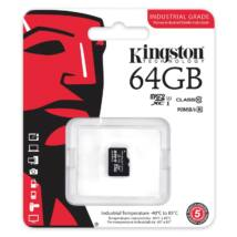 64GB MICROSDXC KINGSTON UHS-I INDUSTRIAL TEMP