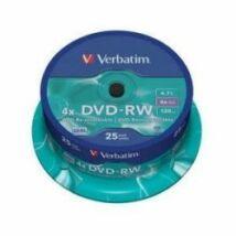 VERBATIM DVD-RW 4X CAKE 25 /43639/