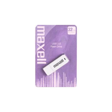 Maxell 32GB Pendrive USB 2.0 - White