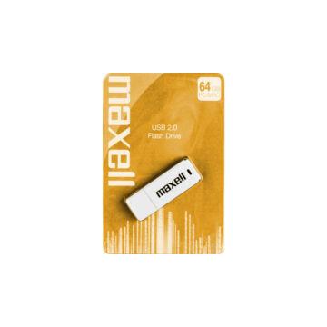 Maxell 64GB Pendrive USB 2.0 - White