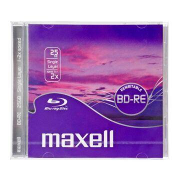 Maxell BD-RE 25 gB 2X Újraírható Blu-Ray Lemez - Normál Tokban (1)