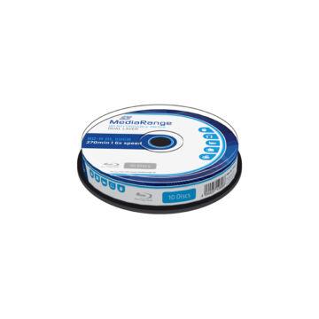 Mediarange BD-R DL 6X 50 gB Blu-Ray Lemez - Cake (10)
