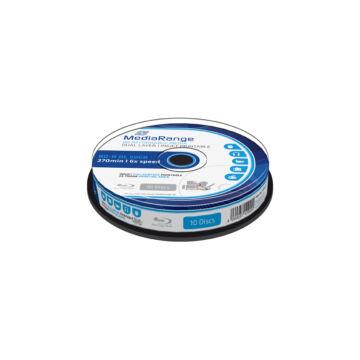 Mediarange BD-R DL 6X 50 gB Nyomtatható Felületű Blu-Ray Lemez - Cake (10)
