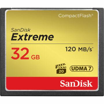 SanDisk Extreme 32 GB UDMA7 CompactFlash memóriakártya